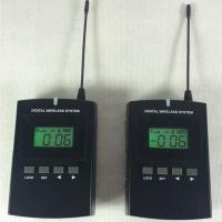 Black 008C Digital Wireless Tour Guide System With Excellent Sound Effect Good Quality Manufactures