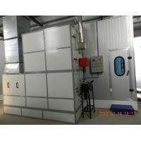 Autobody Spraybooth Equipment with Riello Oil Burners and intake and exhaust fans Manufactures