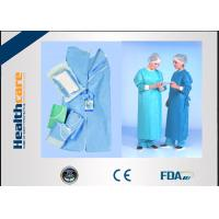 SMMMS / SMMS Disposable Surgical Gowns Medical Scrubs Acid Proof Free Samples Manufactures
