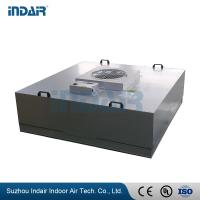 Buy cheap 2 * 2 Feet FFU Fan Filter Unit , 220V 50Hz Fan Filter Unit For Clean Room from wholesalers