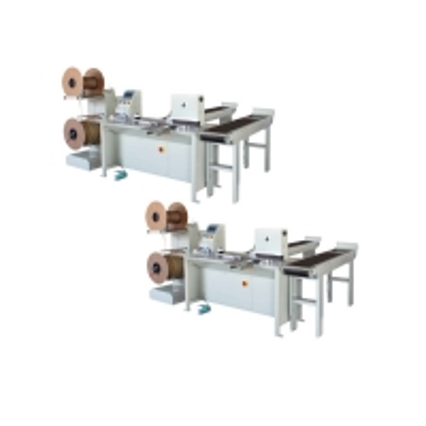 Max Binding Length 420mm nylon-coated Twin-Loop Wire Binding Machinery