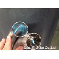 OD / ID Polished Short 45 Degree Elbow TP304 TP316L Stainless Steel Weld Fittings Manufactures