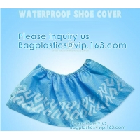 Extra Thick Disposable Shoe & Boot Covers | Durable & Water Resistant Booties | Anti-Slip | One Size Fits Most Manufactures