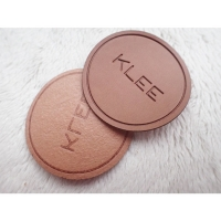 Custom LOGO Soft Debossed Foldable PU Patch Leather Label For Clothing Handbags Jeans Manufactures