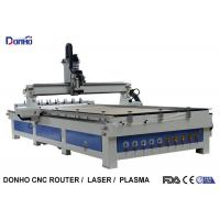 ATC CNC Wood Milling Machine Craftsman CNC Router With Two Linear Tools Banks Manufactures