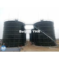 Cow Dung Biogas Digester 3 - 13 Mm Panel Thickness 100% Gas Tight Roof Manufactures