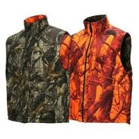 Shooting Waistcoat Orange Blaze Camouflage Hunting Vest Realtree Reversible Insulated Hunting Vest Manufactures