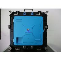 Buy cheap PH4 portable Display LED Indoor Rental with 512mm x 512mm die-cast cabinet from wholesalers