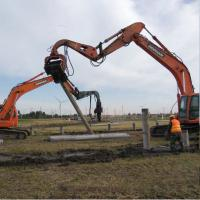 Buy cheap Excavator Mounted Mini Integrated Vibratory Pile Hammer Construction Equipment from wholesalers