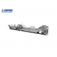 Electric Heating Vegetable Blanching Machine Glass Bottle Food Pasteurization Manufactures