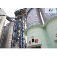 Steel Wire Rope 167t/H Belt Bucket Elevator For Raw Cement Manufactures