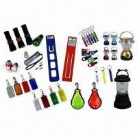 LED flashlights, customized colors and logos are accepted Manufactures