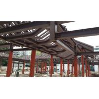 Buy cheap Customsized Poultry Farm Structure , Hollow Pipe Steel Structure Tower - Red from wholesalers
