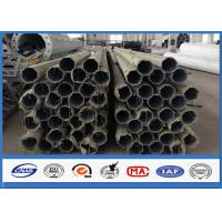 500KGS Design Load galvanized steel pipe with Bituminous Painting 30 m /s Wind Speed Manufactures