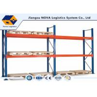 Corrosion Protection Pallet Warehouse Racking With Free Post Base Plate Manufactures
