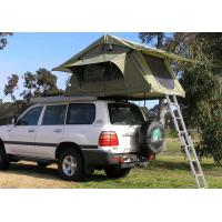 Fireproof 4 Person Roof Top Tent , Folding Roof Tent With Large Window Manufactures