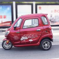 Disc Brake 60V 58Ah Battery Passenger Electric Tricycle Manufactures