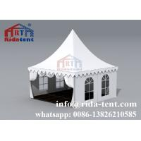 Buy cheap Aluminum Frame Pagoda Party Tent With Transparent Pvc Cover 6x6 10x10 from wholesalers