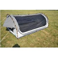 Fire Prevention 2 Person Swag Tent , Canvas Camping Swag Tent Sun Shelter Manufactures