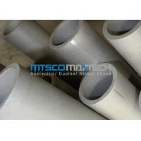 Heavy Wall Thickness Duplex Steel Tube ASTM A790 UNS S31803 For Chemical Industry Manufactures