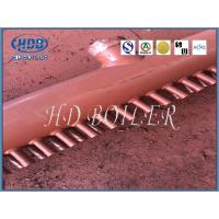 Steel Manifold Headers Boiler Replacement Parts For Steam Boilers With Welded Ends Manufactures