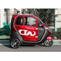 1500W Motor Enclosed Three Wheel Electric Tricycle 60V50Ah Battery Manufactures