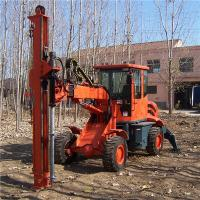 Ground screw anchor, ground screw, ground screw machine GS 2000 Manufactures