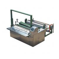 Buy cheap 3.5 Kw Power Non Woven Cutting Machine , Cutting And Rewinding Machine from wholesalers