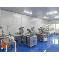 Stock Reday 5ply KN95 Mask Machine / KN95 Medical Face Surgical Mask Making Machine Manufactures