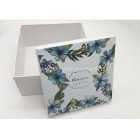 Promotional Embossed Branded Gift Boxes Jewellery Cosmetic Package UV Printing Unusual Manufactures