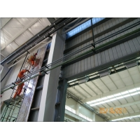 PVC Window Alkyd Painting Q345 Steel Frame Buildings 110mm Dia. Manufactures