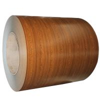 Wood Grain PPGI Coil Sheet / Prepainted Galvanized Steel Coil GB Standard Manufactures