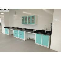 Hospital Chemical Steel Lab Furniture Acid Alkali Resistant Benchtops Manufactures
