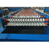 Buy cheap Metal Corrugated Roof Panel Sheeting Roll Forming Machine 2 Years Warranty from wholesalers