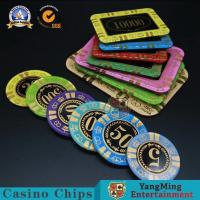 Casino Acrylic Poker Chips Gambling Club Chip Silk Screen Chip Can Custom Manufacturer Spot Manufactures