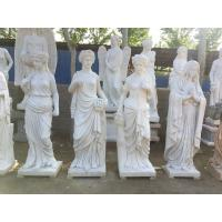 Buy cheap Indoor grace lady marble sculptures park marble stone statues ,China stone from wholesalers