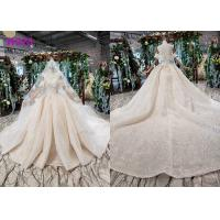 High End Customize Off Shoulder Sequins Bridal Ball Gowns Vintage Luxury Wedding Dress Manufactures