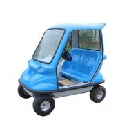 Stable Electric Sightseeing Vehicle With 350W Brushless DC Motor Drum Brake Manufactures