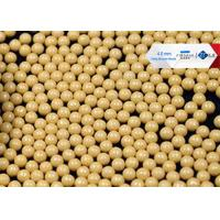 80 Cerium Stabilized Ceramic Grinding Media Balls , High Shear Sand Mill Grinding Media Manufactures