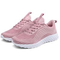 Pink Color Supportive Tennis Shoes , Comfortable Stylish Tennis Shoes Manufactures