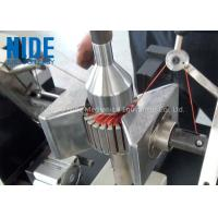 Semi - Auto Armature Coil Winding Machine For Slot Motor Wire Winding Manufactures