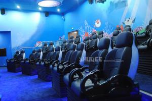 Sea World 5D Dynamic Cinema Amusement Park 12 Kinds Attractive Special Effects Manufactures