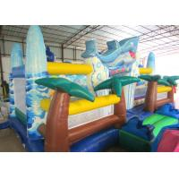 Giant Inflatable dolphin New Ocean undersea world Fun city Inflatable ocean playground park Manufactures