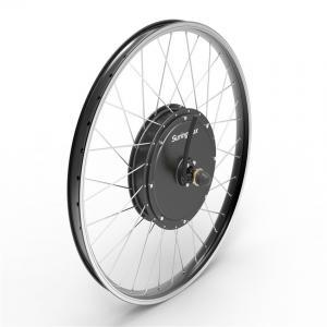 72v 3000w Electric Road Bike Kit Gearless Brushless Dc Hub Motor Manufactures