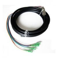 Outdoor Waterproof Fiber Optic Pigtail Anti Corrosion Strong Tensile Ability Manufactures