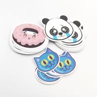 Custom Cartoon Scented Self Adhesive Paper Label Sticker With Fragrance
