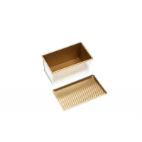 Non Stick 750g 316x100x116mm Small Loaf Baking Pans Manufactures