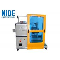 Single Working Station Automatic Coil Winding Machine / Big Coil Motor Stator Winding Machine Manufactures