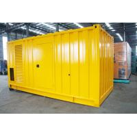 Soundproof Silent Diesel Generator Set 2500kva 400 / 230V AC Three Phase Output Manufactures