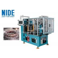 High efficiency automatic 4 working stations electric motor stator coil lacing machine line Manufactures